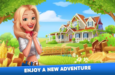 Solitaire: Texas Village (Unlimited Money) 1