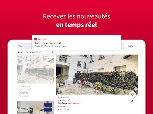 SeLoger - achat, vente et location immobilier apktram screenshots 7