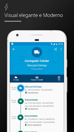 Rastreio Correios (rastreamento correios) modavailable screenshots 2