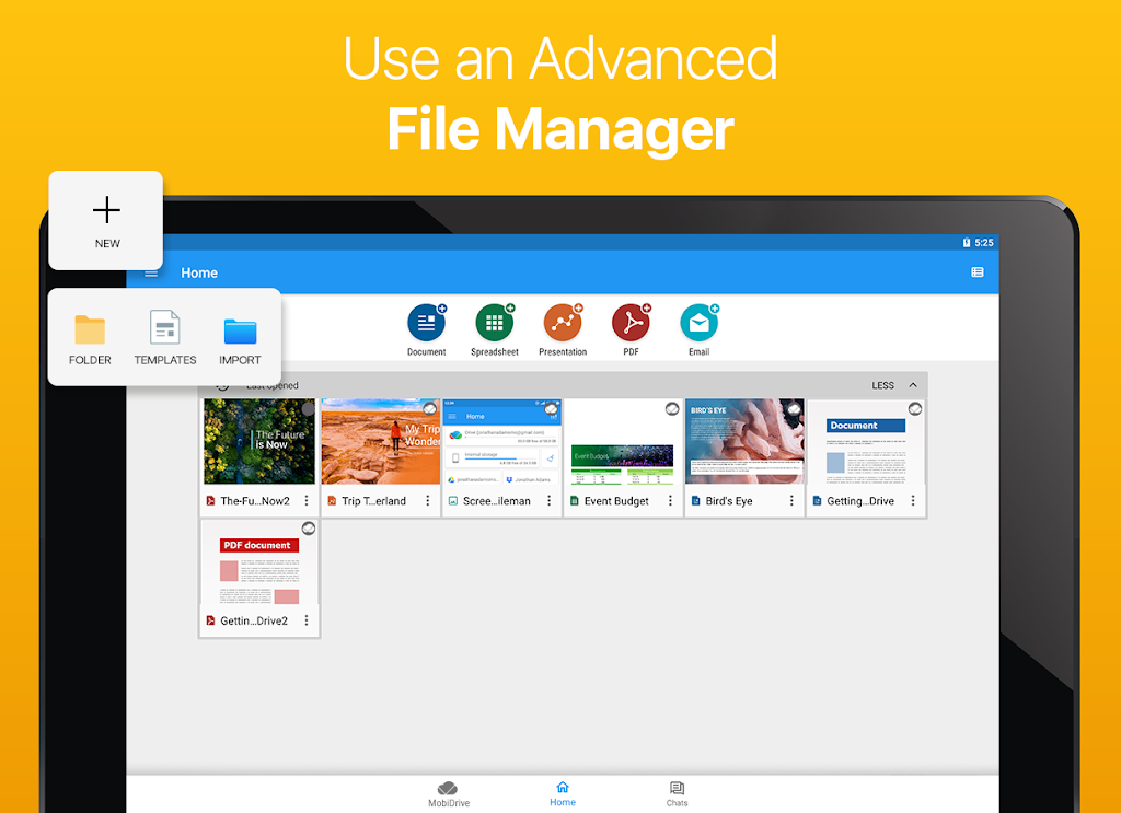 OfficeSuite - Word docs, Excel sheets, PDF & more  poster 18