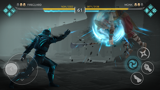 Shadow Fight Arena — PvP Fighting game (MOD APK, High Damage/Freeze Bot) v1.1.10 3