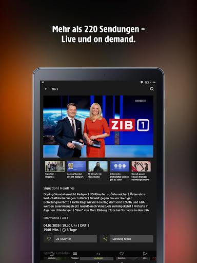 ORF TVthek: Video on demand android2mod screenshots 7