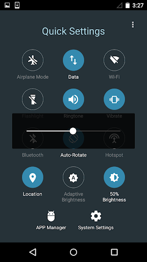 Quick Settings for Android- Toggle & Control Panel  Screenshots 3