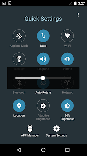Quick Settings for Android- Toggle & Control Panel Screenshot