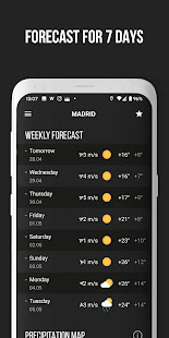 MeMeteo - weather forecast screenshots 5