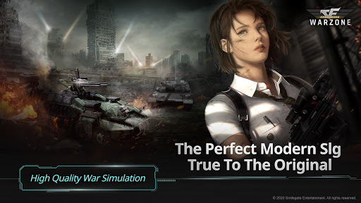 CROSSFIRE: Warzone - Strategy War Game modiapk screenshots 1