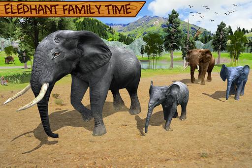 Wild Elephant Family Simulator apkpoly screenshots 5