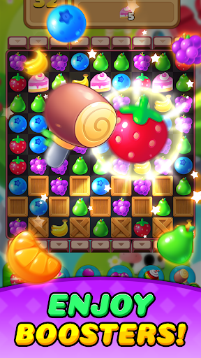 Fruit Delight Burst: Match3 Sweet Puzzle Adventure 1.0.23 screenshots 4