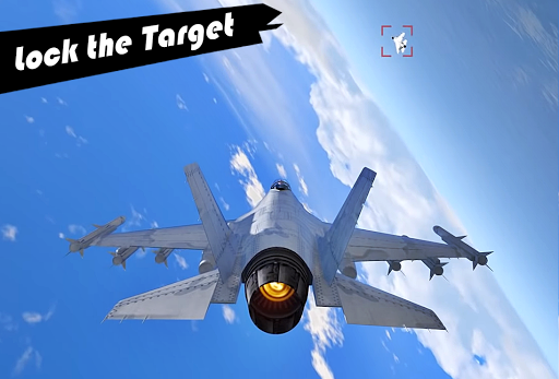 Modern Jet War Planes : Air Fighter Warfare Strike apkpoly screenshots 4
