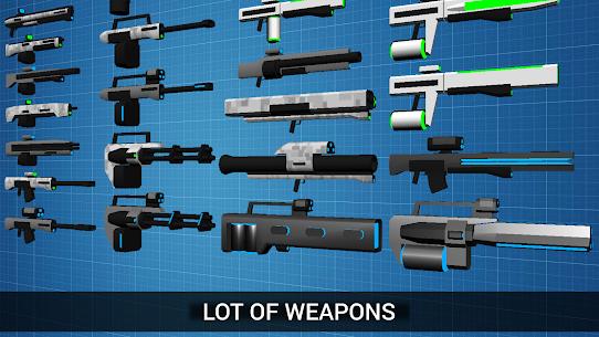 CyberSphere: SciFi Third Person Shooter Mod Apk (Unlocked) 2