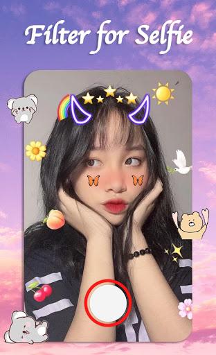Filter for Selfie - Sweet Snap Face Camera  Screenshots 9