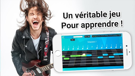 Cours de guitare et tablature Screenshot