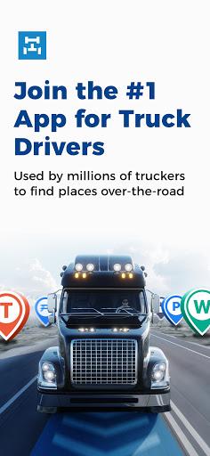 Trucker Path: Truck GPS Truck Stops Weigh Stations apktram screenshots 1