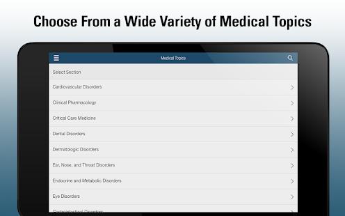 Merck Manual Professional  Screenshots 9