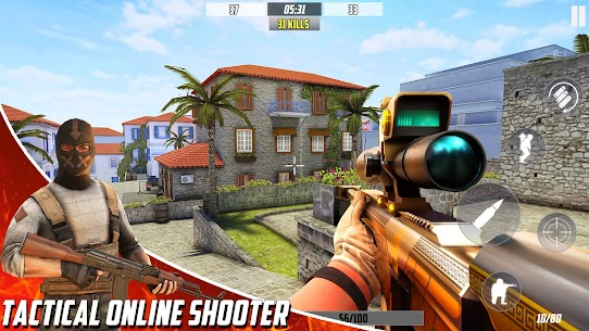 Hazmob FPS : Online Multiplayer FPS Shooting Game Mod Apk 1.1.37 (Endless Game Currency) 5