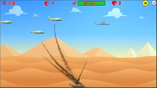 Anti Aircraft Bomber ( Airplane Games ) - Skysol 1.6.12.1 screenshots 4