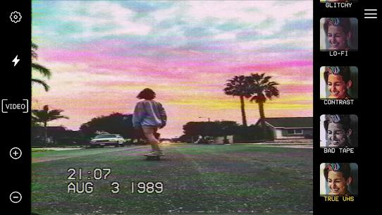 True VHS 🌌 – 80s Vintage camera & glitch editor 1