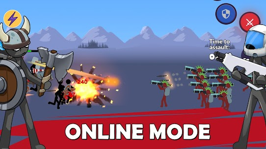 Age of Stickman Battle of Empires Mod Apk 1.0 (Inexhaustible Currency) 6