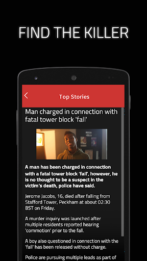 Dead Man's Phone: Interactive Crime Drama modavailable screenshots 8