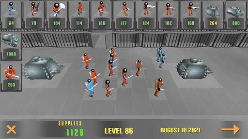 Stickman Prison Battle Simulator: Zombies screenshots 4