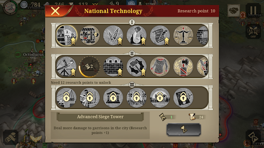 Great Conqueror: Rome MOD APK 1.6.2 (Unlimited Medals) 8