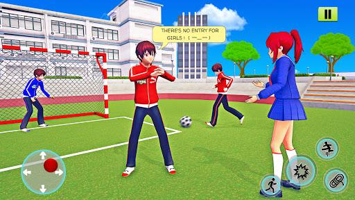 High School Girl Simulator 3D: Anime School Games  screenshots 11
