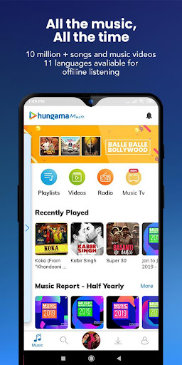 Hungama Music - Stream & Download MP3 Songs 5.2.22 Paidproapk.com 1