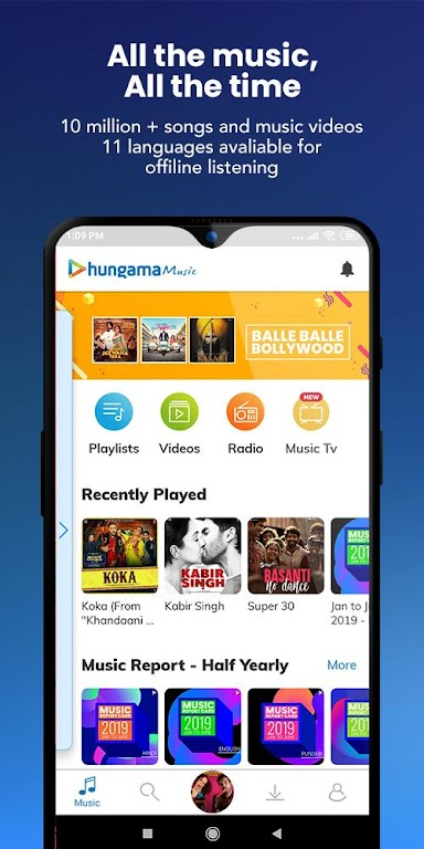 Hungama Music - Stream & Download MP3 Songs  poster 0