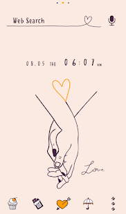 Image For Cute Wallpaper Love Line Art Theme Versi 1.0.1 1