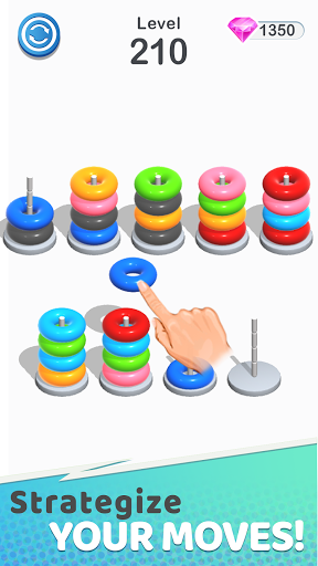 Color Sort Puzzle: Color Hoop Stack Puzzle 1.0.12 screenshots 4