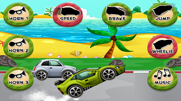 Car Game for Toddlers Kids