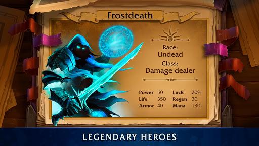 Heroes of War Magic-Turn Based RPG & Strategy game  screenshots 2