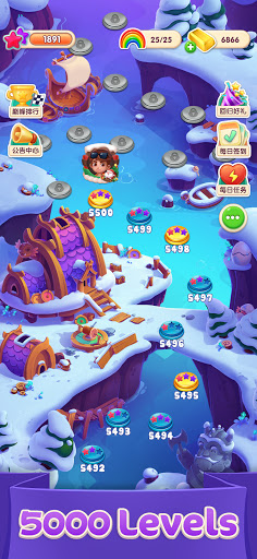 Jellipop Match-Decorate your dream islanduff01 7.9.2 screenshots 5