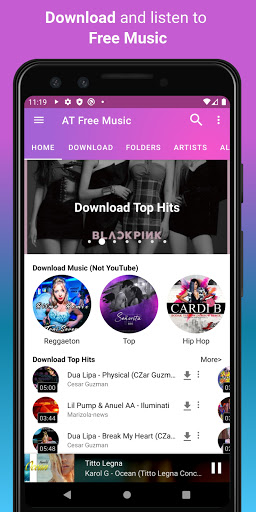 Download music, Free Music Player, MP3 Downloader 1.137 Screenshots 2