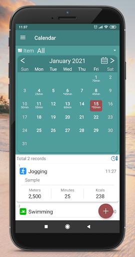 mysportlog - fitness record & sport tracker screenshot 3