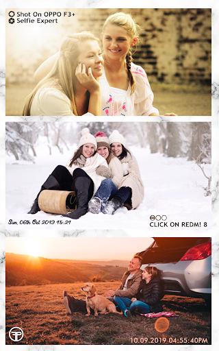 Shot On Stamp Photos with ShotOn Watermark Camera 1.3.1 Screenshots 16