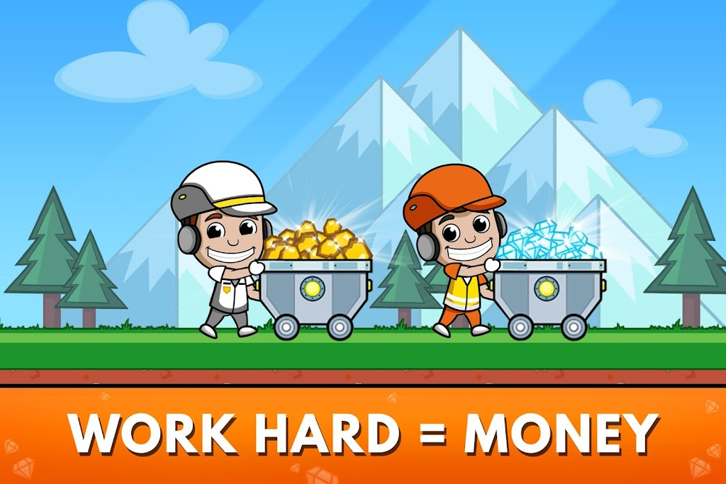 Idle Miner Tycoon: Gold & Cash Game MOD poster 3