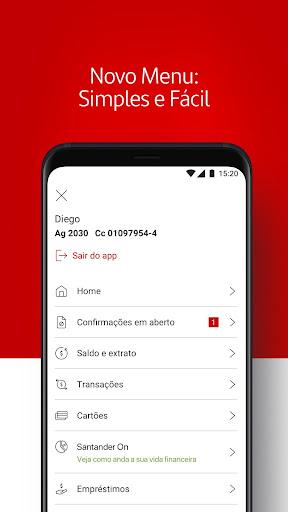 Santander Brasil  screenshots 2
