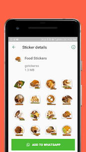 Food Stickers – WAStickerApps 2
