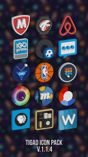 Tigad Pro Icon Pack apktram screenshots 8