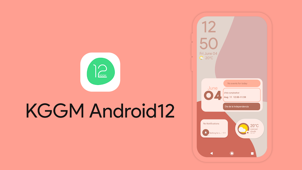 KGGM Android12 for KWGT  poster 3
