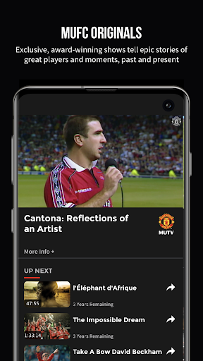 MUTV u2013 Manchester United TV 2.9.3 Screenshots 6