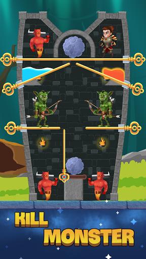 Hero Pin: Rescue Princess apkdebit screenshots 5
