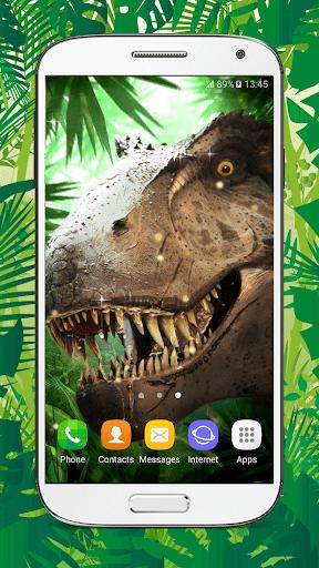 Dinosaur Live Wallpaper HD screenshots 1