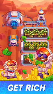 Idle Mars Colony: Clicker farmer tycoon Mod Apk (Unlimited Diamonds) 1