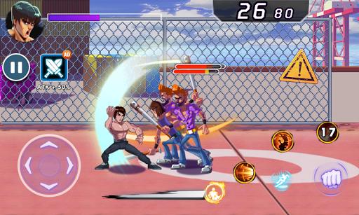Superhero Captain X vs Kungfu Lee apkpoly screenshots 10