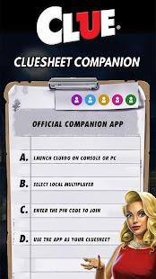 Cluesheet Companion