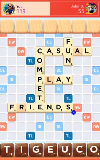 Scrabbleu00ae GO - New Word Game Apkfinish screenshots 11