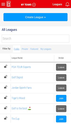 PGA TOUR Fantasy Golf  screenshots 3