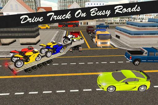 Bike Transport Truck 3D  screenshots 3